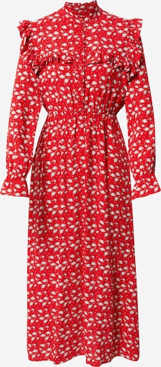 Trendyol Blousejurk in de kleur Rood / Wit, Productweergave