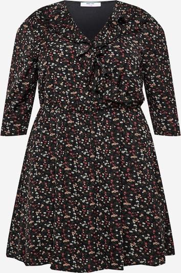 ABOUT YOU Curvy Kleid 'Raven' in mischfarben / schwarz: Frontalansicht