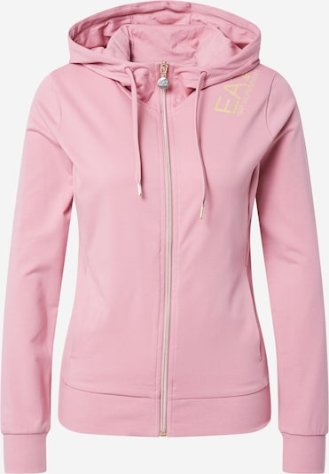 EA7 Emporio Armani Sweat jacket in yellow gold / Pink, Item view