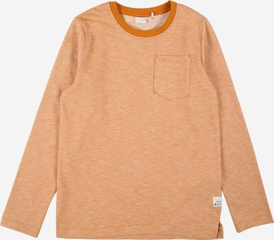 NAME IT Sweater majica 'VILMAR' u narančasta / bijela, Pregled proizvoda
