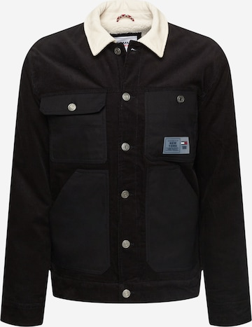 Tommy Jeans Kevad-sügisjope, värv must