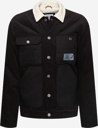 Tommy Jeans Välikausitakki värissä musta / valkoinen, Tuotenäkymä