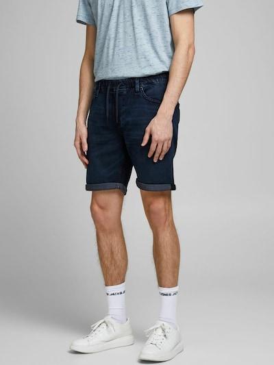 JACK & JONES Jeans in dunkelblau, Modelansicht