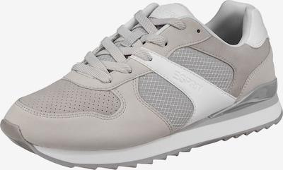 ESPRIT Sneaker 'Ambro' in taupe / silbergrau / stone / weiß, Produktansicht