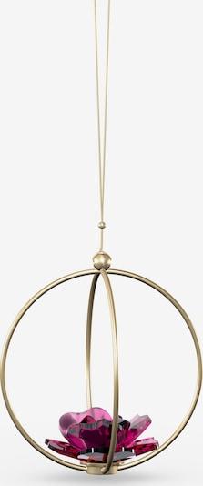 Swarovski Dekoobjekt 'Garden Tales Rose' in gold / burgunder, Produktansicht