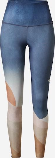 Onzie Športové nohavice 'high rise graphic midi' - béžová / námornícka modrá / pastelovo oranžová / púdrová, Produkt