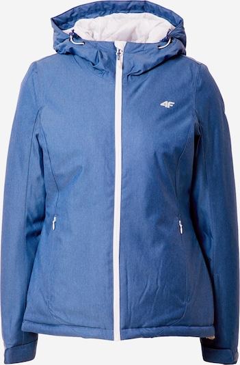 4F Skijacke in blau / weiß, Produktansicht