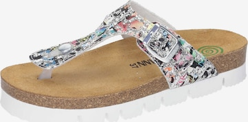 DR. BRINKMANN T-Bar Sandals in Mixed colors