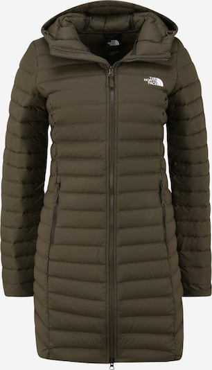 THE NORTH FACE Veste outdoor en olive, Vue avec produit