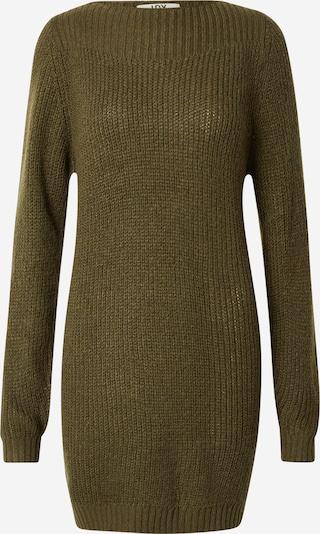 JDY Kleid 'WHITNEY MEGAN' in dunkelgrün, Produktansicht