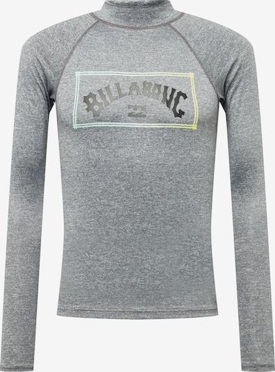 BILLABONG T-Shirt fonctionnel en aqua / jaune / gris chiné / noir, Vue avec produit