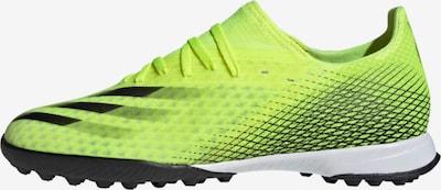 ADIDAS PERFORMANCE Fußballschuh 'X Ghosted.3' in neongrün / schwarz, Produktansicht