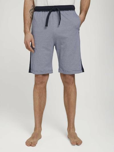 TOM TAILOR Pyjamahose in navy, Modelansicht