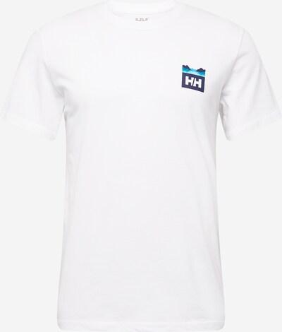 HELLY HANSEN Sporta krekls tirkīza / naktszils / balts, Preces skats
