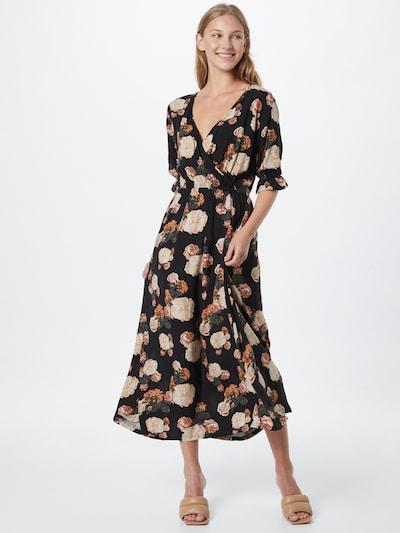 Eight2Nine Šaty - oranžová / růžová / černá / bílá, Model/ka