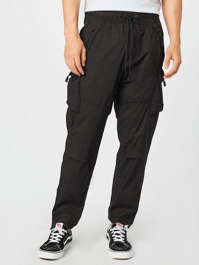 Calvin Klein Jeans Карго панталон в черно, Преглед на модела