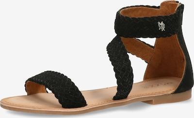 MEXX Sandale 'EDA' in schwarz, Produktansicht