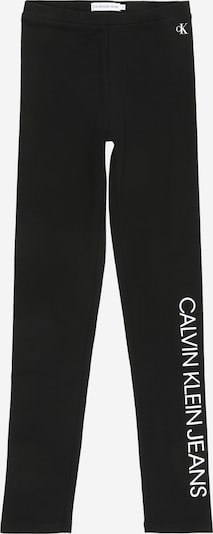 Calvin Klein Jeans Leggings i sort / hvid: Frontvisning