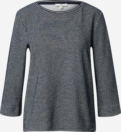 TOM TAILOR Sweatshirt in navy / weiß, Produktansicht