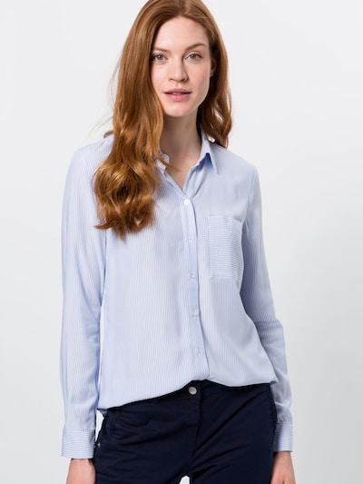 zero Hemdbluse in blau, Modelansicht