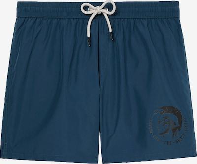 DIESEL Badehose in dunkelblau / weiß, Produktansicht