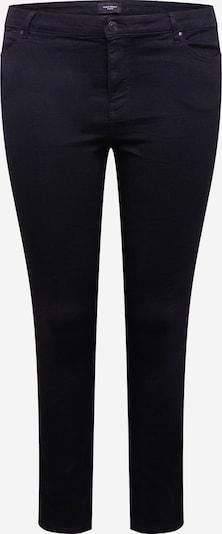 Vero Moda Curve Jeans 'VMJUDY MR SLIM JEGGING VI133 CURVE' in de kleur Zwart, Productweergave