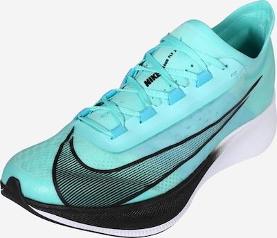 NIKE Zapatillas de running 'ZOOM FLY 3' en turquesa / negro, Vista del producto
