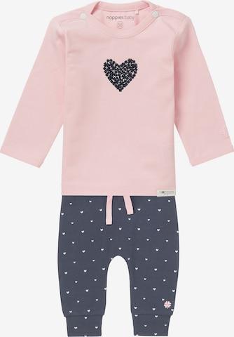 Set 'Road' di Noppies in rosa