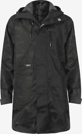 Dingy Rhythm Of The Rain Regenmantel 'Alfred' in grau / grün, Produktansicht