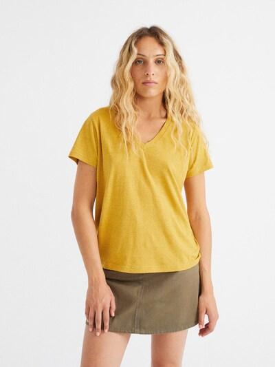 Thinking MU T-Shirt ' Clavel ' in senf, Produktansicht