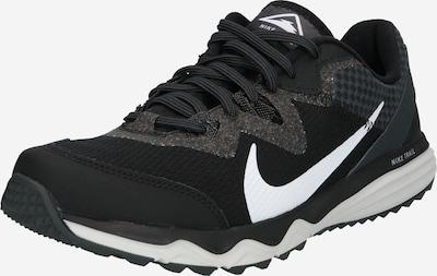 NIKE Chaussure de course 'Juniper Trail' en noir / blanc, Vue avec produit