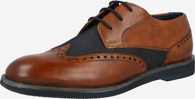 Pantofi cu șireturi 'Melchiore' bugatti pe albastru noapte / maro coniac, Vizualizare produs