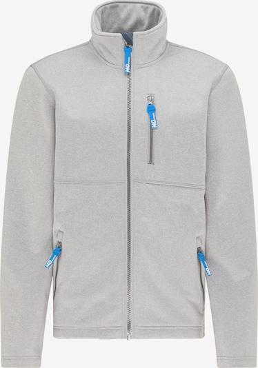 Mo SPORTS Functionele jas in de kleur Turquoise / Lichtgrijs / Wit, Productweergave