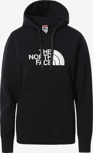 THE NORTH FACE Sport sweatshirt 'Drew Peak' i svart / vit, Produktvy