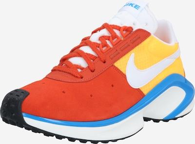 Sportbačiai be auliuko iš Nike Sportswear , spalva - mėlyna / geltona / oranžinė-raudona: Vaizdas iš priekio