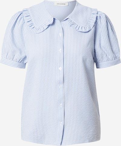 Sofie Schnoor Bluse in hellblau / weiß, Produktansicht