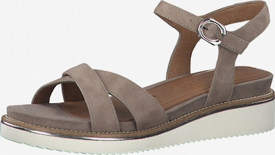 TAMARIS Sandalen met riem in de kleur Taupe, Productweergave
