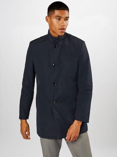s.Oliver BLACK LABEL Prijelazni kaput u tamno plava, Prikaz modela