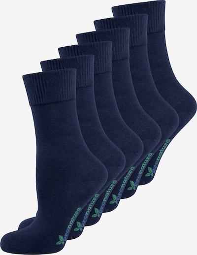 Nur Die Socke ' Pronature Komfort ' in dunkelblau, Produktansicht