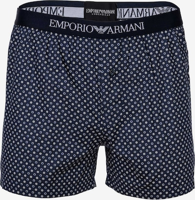Emporio Armani Boxers en bleu foncé / noir / blanc, Vue avec produit