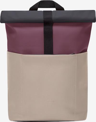 Ucon Acrobatics Backpack 'Hajo Lotus' in Kitt / Anthracite / Wine red, Item view