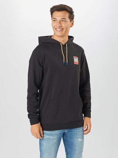 ADIDAS ORIGINALS Sweatshirt 'Adiplore' in de kleur Zwart: Vooraanzicht