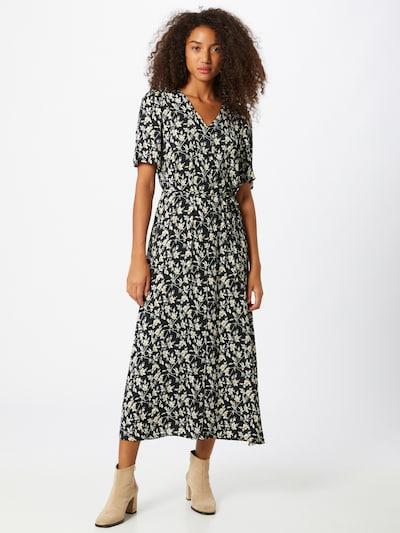 JACQUELINE de YONG Kleid in gelb / schwarz / weiß, Modelansicht