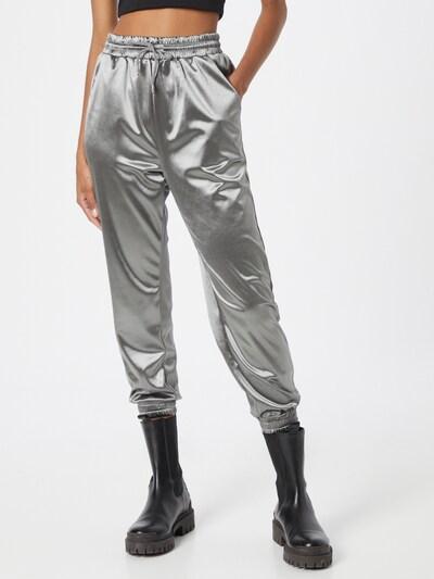 AX Paris Nohavice - striebornosivá, Model/-ka