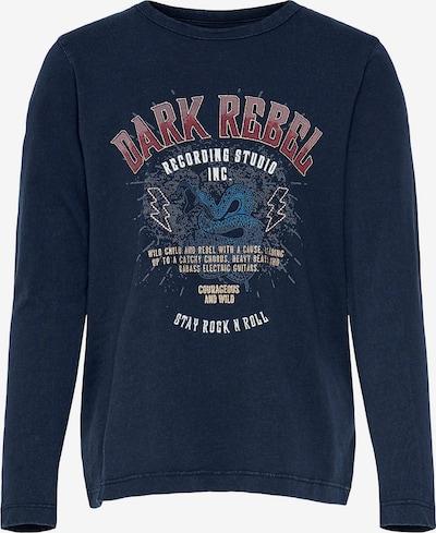 KIDS ONLY Shirt in dunkelblau / rot / weiß, Produktansicht