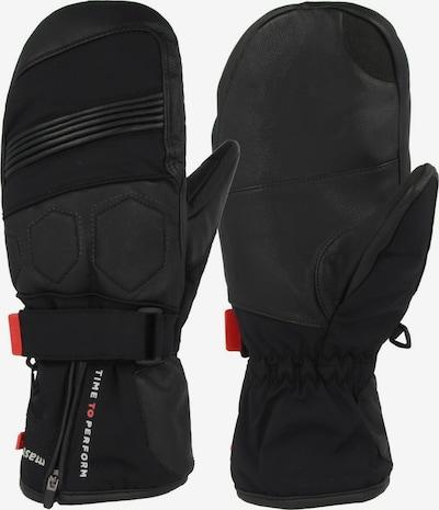 Seiz Gants de sport en noir, Vue avec produit