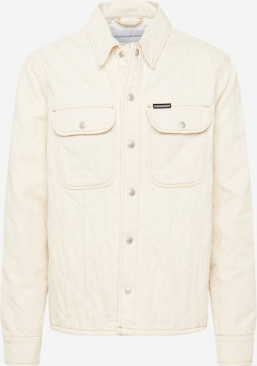Calvin Klein Jeans Välikausitakki värissä valkoinen denim, Tuotenäkymä