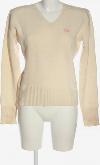 La Martina Sweater & Cardigan in XL in Cream, Item view