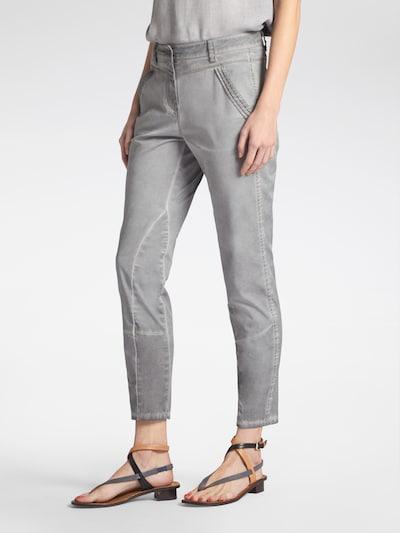 Sandwich Jeans in grey denim, Modelansicht