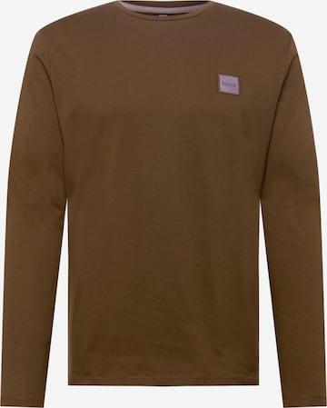 BOSS Casual Särk 'Tacks 1', värv pruun